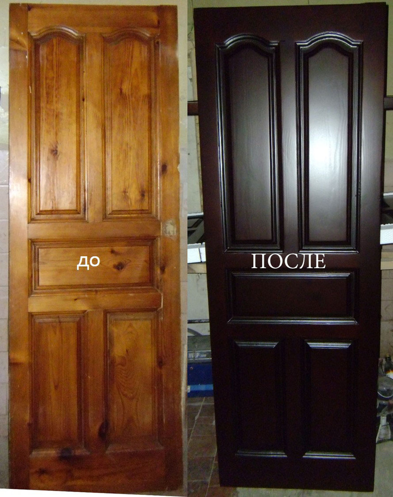 Реставрация дверей своими руками фото 82